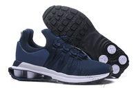Wholesale gravity designs - Dark Blue Men Shox Gravity 908 Basketball Shoes Cheap Men Running Shoes Chaussures Shox Hombre Design Sneakers Sizes Us7-12