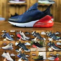 Wholesale embroidered tiger - Sale 2018 new Vapormax 270 Running Shoes Outdoor Sport Vapor air270 27c tiger cactus triple Black White Shock Men Women basketball Sneakers