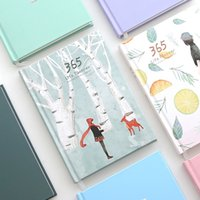 Wholesale Cute Notebook Diary - New 2018 Cute 365 Planner Notebook Daily happy Weekly Monthly Planner Agenda Day Plan Notebooks Journal Diary Stationery A5