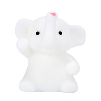 Wholesale Deco Kids - 4CM Cute Lovely Elephant Mochi Squishy Squeeze Healing Fun Kids Kawaii Toy Stress Reliever Deco Relieves Stress Anxiety Toy
