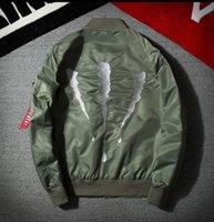 ingrosso giacca casual dei giovani-2017 autunno tendenza giacca pilota sottile personalità giovane con una giacca giorno ma1 giacca casual