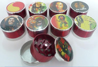 Wholesale teeth colors - 5pcs lot cheaper grinder CNC teeth grinder herb grinder with screen mix colors