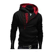 assassin creed hoodie al por mayor-6XL moda marca sudaderas con capucha hombres sudadera chándal hombre cremallera chaqueta con capucha ropa deportiva casual moleton masculino asesino creed