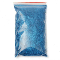 Wholesale Top Quality g mm Metallic Polyester Bright Blue Metal Flake Glitter Auto Car Bike Paint Additive