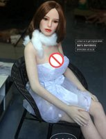 Wholesale japan adult doll toy - Japan Real Silicone Sex Dolls for Women Realistic Big Breast Masturbator Vagina Pussy Adult Sexy Toys Metal Skeleton Love Doll