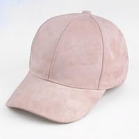 New Women Casual Baseball Cap Dad Hat Deus Cap Pink Black Lady Ovo Drake  Hats Snapback Suede Trucker Men b15eafef40e7