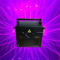 Wholesale Ilda Rgb - 3.5w rgb RGB full color animation sd card Laser light ILDA dj Lazer light Disco Laser Lights For Party , Event Show