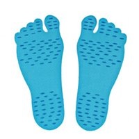 Wholesale sandals accessories online - Invisible Beach Invisible Plantar Sandals Nakefit Soles Summer Waterproof Foot Pads Designer Stealth Shoes Accessories mc Ww