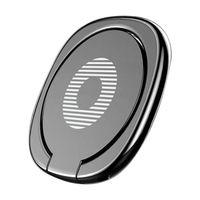 retenção de anel venda por atacado-Ímã do suporte do carro do painel magnético celular titular móvel universal para iphone Samsung Xiaomi GPS de 360 graus do metal dedo anelar segurar topo