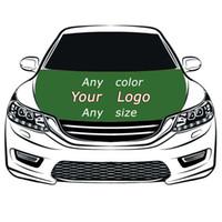 ingrosso le macchine del cofano-Custom Flag Car Hood Cover 3.3X5FT 100% poliestere, bandiera motore, tessuti elastici possono essere lavati, banner cofano auto