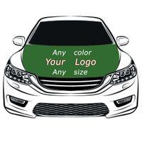 Custom Flag Car Hood Cover 3.3X5FT 100% Polyester,Engine Flag,Elastic Fabrics Can be Washed,Car Bonnet Banner