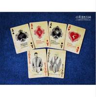 série de jogos de cartão venda por atacado-Série de TV Game of Thrones jogo de poker cartas de baralho canção de fogo e gelo coleção derivativa novidade poker presente