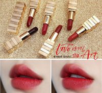 Wholesale small size lipstick for sale - High Quality Novo Color Matte Velvet Small Pyramid Lipstick Lasting Waterproof Moisturizing Gorgeous Sexy High Quality Lip Makeup