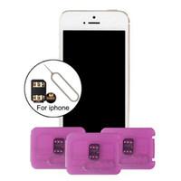 Wholesale Iphone Unlock Sim Sprint - Rsim 12+ r sim 12+ RSIM12+ iphone unlock card for iPhone 8 iPhone 7 plus and i6 unlocked iOS 11.x-7.x 4G CDMA GSM WCDMA SB AU SPRINT