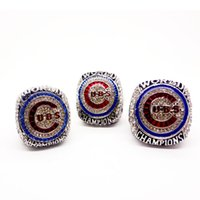 Wholesale Channel Set Stones - High quality 2016 Chicago Cubs world championship ring size 11 in stock dropshipping ZOBRIST & BRYANT & RIZZO