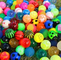 Wholesale toy bouncy balls online - Diameter mm rubber Hi Bouncing balls bouncy ball picture bouncing ball for kids Decompression Toys Amusement Toys