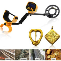 buscador de tesouro subterrâneo venda por atacado-MOQ: 1 pcs Detector De Metal Subterrâneo Detector De Metal Sensível Escavador De Ouro Tesouro Caçador De Metal Localizador Ferramenta de Busca