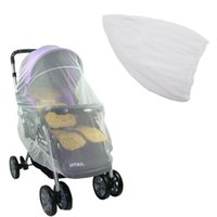 cubierta de red bebé al por mayor-Summer Safe Baby Carriage Insect Full Cover Mosquitera Baby Stroller Bed Netting 88 J2Y