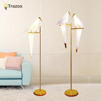 lâmpadas de assoalho modernas venda por atacado-Moderna Lâmpada de Assoalho Para Sala de estar Europeu Tecido Abajur lampara de torta Lâmpada de Pé Piso Luminárias Frete grátis