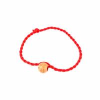 chinesisches rotes seilarmband großhandel-2 Teile / satz Chinese Red Geburtsjahr Charme Seil Kette Unisex Gute Glück Rot Paar Kinder Seil Armband Zubehör Geschenk
