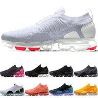 Wholesale online athletic shoes for sale - Group buy MOC Mens Women Running Shoes Core Triple Black White Wheat Grey Oreo Cheap Men Run Athletic Sport Sneaker Online