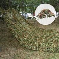 ingrosso camouflage camo netto-caccia esercito campeggio camo outdoor woodlands Big size 3 * 4 M Camouflage net Camo per il campeggio di caccia
