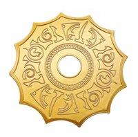 ingrosso narghilè nero-Novità del narghilé Sun Roller a vaschetta arabo narghilè dell'attrezzo degli accessori Shisha grande formato a colori Nero Oro Per Pipe