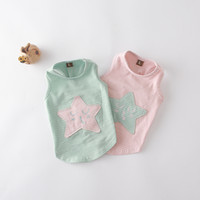 Wholesale star pattern shirt for sale - Group buy Benmei Fashion Summer Dog Vest Striped Cotton Pet Shirt Puppy Teddy Clothes Sweet Star Pattern Dog Tank Top