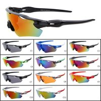 Wholesale hot girls bicycles for sale - Group buy 2018 Hot New Summer Man Sport Cycling Sunglasses Spectacles Women Bicycle goggle Sports Outdoor Colors Sun Glasses Colors A