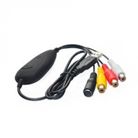 Wholesale vhs adapters resale online - USB Audio Video VHS to DVD Converter Capture Card Adapter Win7 Win8 Win10 XXM8