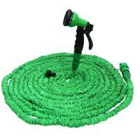 Wholesale 25ft expandable hose for sale - watering Color Expandable Garden Flexible Spray Gun Pipe Plastic Watering Hose With Spray Gun FT FT