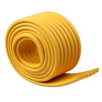ingrosso angolo di mestiere-2x 2mx 8cm baby foam bordo protezione angolo protezione nastro di sicurezza strumento mestiere fai da te (giallo)