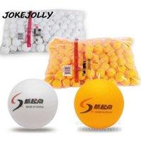ingrosso palline da tennis di colore giallo-Nuovo 10 Pz / lotto Tennis Ping Pong Balls 4 cm Tavolo Palline Da Tennis Palline da allenamento Bianco e Giallo 2 colori possono scegliere GYH