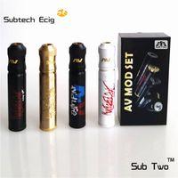 fähig mod großhandel-Neue Sub Two Able V2 Mod Mod Kit Klon 24mm Durchmesser Zerstäuber Vape mit E Zigarette mechanische 510 Gewinde