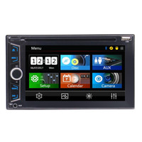 "Wholesale av navigation - 6.2""Double Din Car Radio Car Audio Headunit Car DVD Player GPS Navigation AM FM Touch-screen SWC Bluetooth Subwoofer AV Out+Wireless Remote"