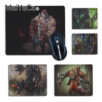 Wholesale coolest mouse pads - MaiYaCa Cool New Dota 2 Pudge Designed for games Comfort small Mouse Mat Gaming Mouse pad for Game Playing Lover
