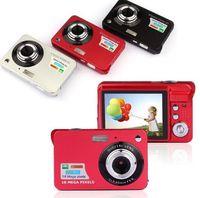 tarjeta de vídeo 8x al por mayor-18Mp Max 1280x720P HD Video Súper Regalo Cámara Digital con Sensor de 3Mp Pantalla LCD de 2.7