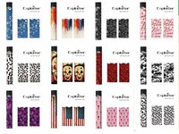 Wholesale e cigarette oem - Skin for JUUL Device Various Style Wrap Decal E-Cigarette Vape Pen Sticker OEM Customize for Your JUUL