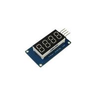ingrosso tavole di guida guidate-TM1637 Modulo display a LED 7 segmenti 4 bit 0,36 pollici Orologio ROSSO Anodo Tubo digitale Quattro scheda driver seriale