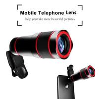 teleskop mobil für iphone großhandel-Handy Teleobjektiv 14X Zoom Optisches Teleskop 4K HD Telefon Kameraobjektiv für iPhone Samsung Huawei Xiaomi