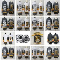 Wholesale Polyester Wrinkles - 2018 New Golden Knights Jersey 18 James Neal 29 Marc-Andre Fleury 56 Erik Haula 88 Schmidt 71 William Karlsson 57 David Perron Hockey Jersey