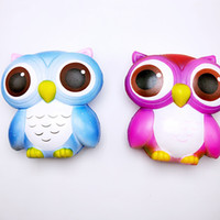 Wholesale China Wholesale Kids Toys - Cute PU Simulation Squishy Animal Owl Shape Slow Rising Squishies For Kids Reduce Pressure Toys New Arrival 20bq B