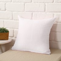 45 * 45cm Home Sofa Throw Pillow Case Solid Candy Color Polyester Pillow Cover Cushion Cover Pillow Case