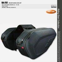 motosikletler eyer çantaları toptan satış-018 Yeni Evrensel fit Motosiklet komine SA212 Yağmur Kapağı ile Çanta Bagaj Eyer Çanta