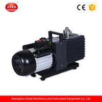 Wholesale pump prices - ZZKD Factory Price Lab Two Stage Oil Rotary Vane Vacuum Pump with Rotary Vane Two Stage Electroic Coating