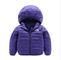 veste d'extérieur pour filles achat en gros de-manteau de duvet de canard pour enfants garçons fille manteau manteau manteau