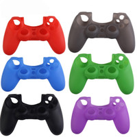 Wholesale sony playstation ps4 online - Rubber Silicone Soft Gamepad Joypad Cover Case For Sony PlayStation Dualshock PS4 Controller Protection Skin Shell