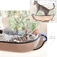 Wholesale toy chinchilla for sale - Cat Hammock Cat Window Bed Lounger Sofa Cushion Hanging Shelf Seat with Suction Cup for Ferret Chinchilla
