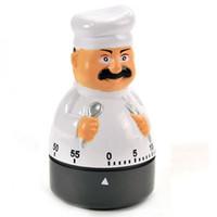 minutero al por mayor-Venta al por mayor Chef Style Egg Timer Dial Temporizador de cocina Alarma Cocinar cuenta regresiva Cambio de temporizadores Establecer recordatorio de tiempo de hasta 60 minutos