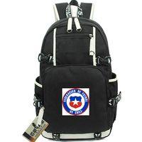 красные синие футбольные команды оптовых-CHL рюкзак Чили команда день пакет синий красный футбол школьная сумка футбол рюкзак ноутбук рюкзак Спорт школьный вне двери рюкзак